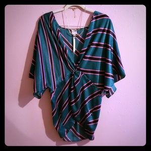Asos wrap style blouse size 12